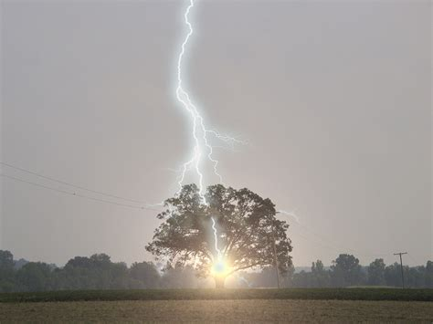 when lightning strikes hook