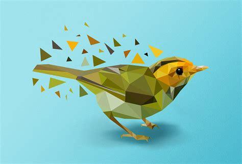 tutorial illustrator polygon polygon art tutorial on behance