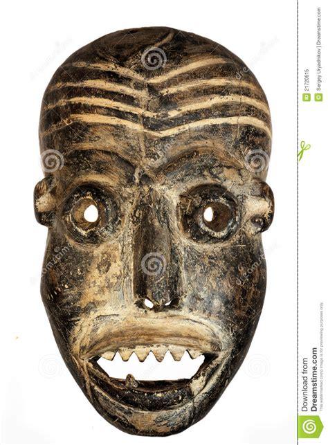 Masker Tiff het afrikaanse masker het gezicht stock afbeelding