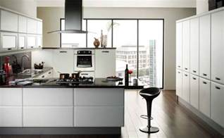Modern Kitchen With White Cabinets Cabinets For Kitchen Modern White Kitchen Cabinets