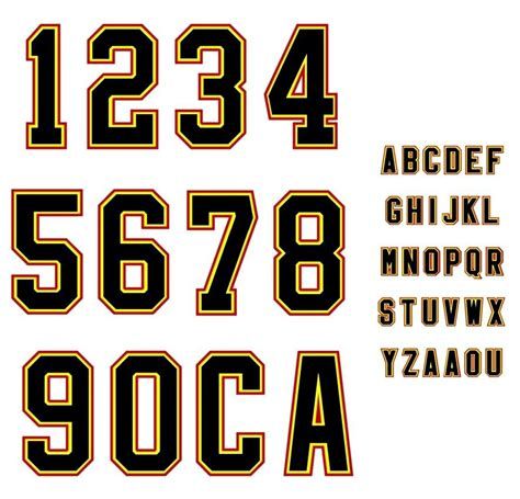 letter to number sports number amp letter template baseball sports fonts 920 | 91713b61650486998c2ed0af9d51b31f