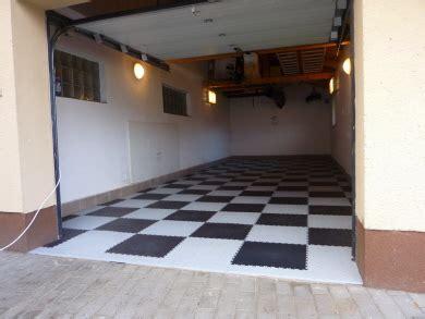 Pvc Boden Garage by Der Schwimmend Verlegbare Pvc Garagenboden