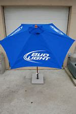 Bud Light Patio Umbrella Umbrella Ebay