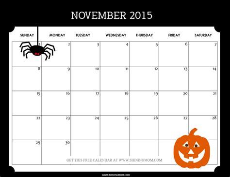 printable planner for november 2015 november 2015 calendars