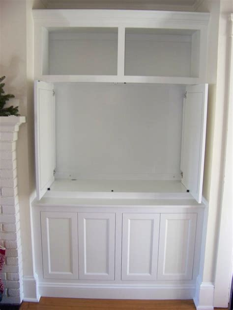 Cabinet With Pocket Doors Saved From