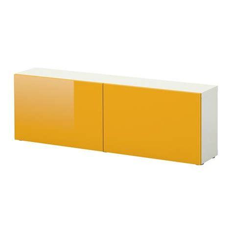besta yellow doors best 197 shelf unit with doors white tofta high gloss