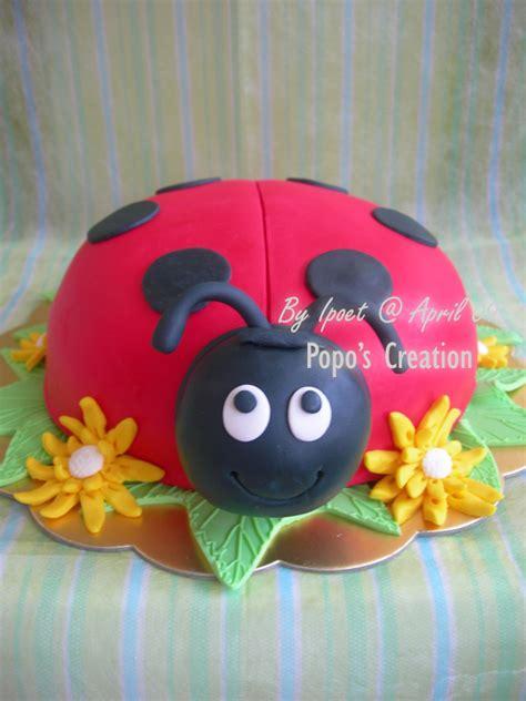 A Wedding On Ladybug Farm popo s creation bug cake