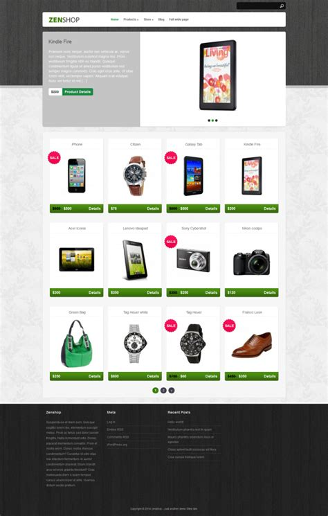 best free ecommerce themes 10 best free ecommerce themes