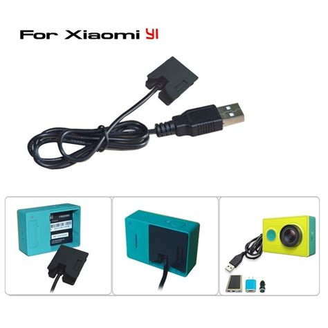 Baterai Yi xiaomi yi dummy battery eliminator adapter usb cable power