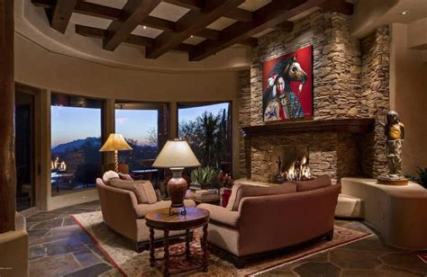 Luxurious Bathroom Ideas contemporary living room with stone fireplace amp box