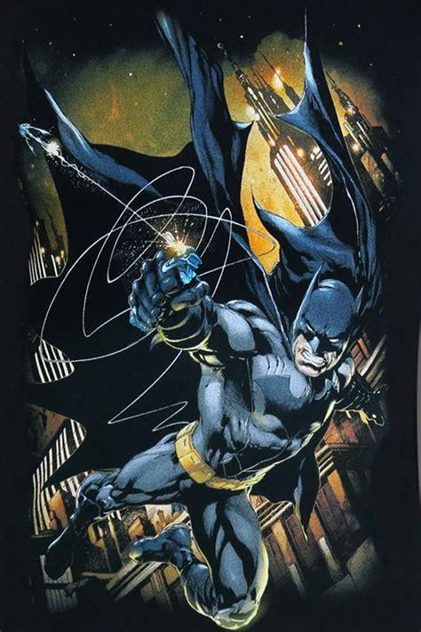 batman swinging batman grapple fire t shirt