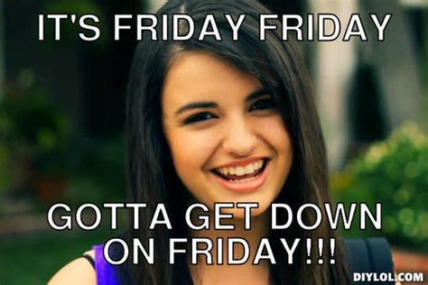 Rebecca Black Meme Generator - how to make a salad in a jar