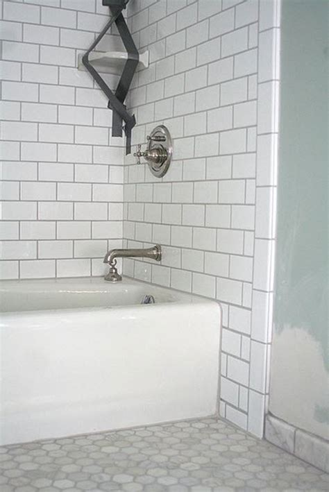 bath tile 34 white hexagon bathroom floor tile ideas and pictures