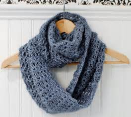 Infinity Scarf Crochet Patterns Mobius Infinity Scarf Wrap Petals To Picots