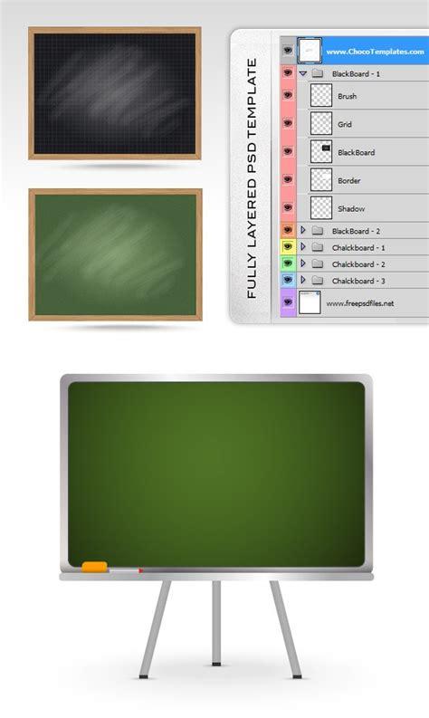 Blackboard Psd Templates Free Psd Files Blackboard Website Templates