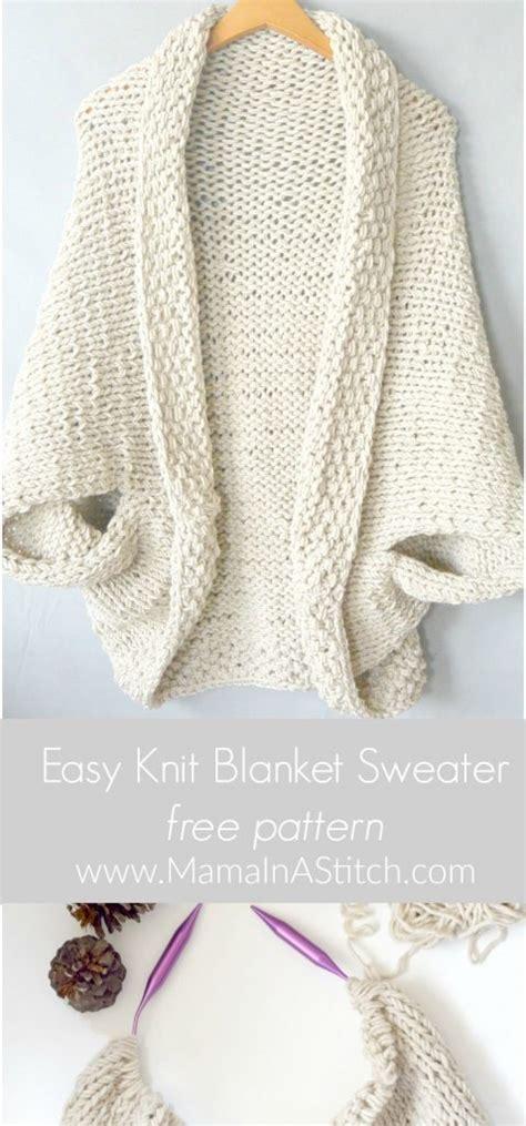 simple bolero knitting pattern easy knit blanket sweater pattern in a stitch