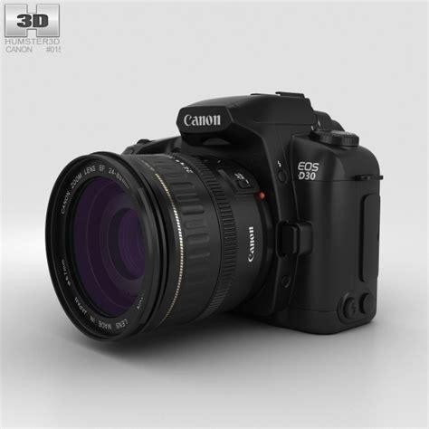 canon 3d canon eos d30 3d model hum3d
