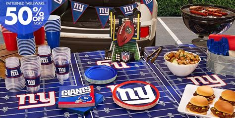 Nfl Decorations Nfl New York Giants Supplies City
