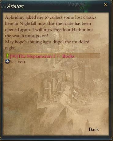 libro lheptameron guia forsaken