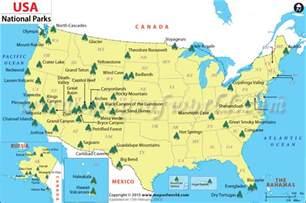 map of all the us national parks mis aventuras por el mundo