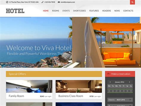 theme hotel full screen 35 best hotel wordpress themes 2016 athemes