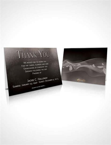 8x11 by 11 template thank you cards thank you card template divinity black and white memories