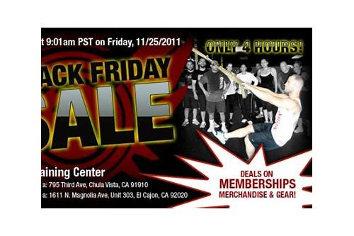 gym membership deals black friday