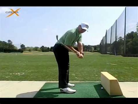 golf swing wall drill the wall drill by grexa golf instruction youtube