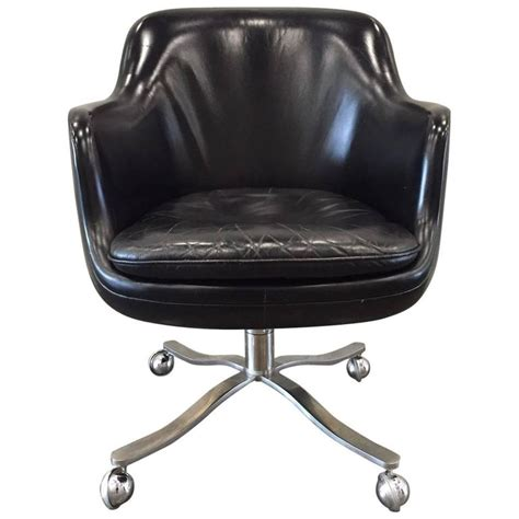 bucket couch nicos zographos black leather bucket chair at 1stdibs