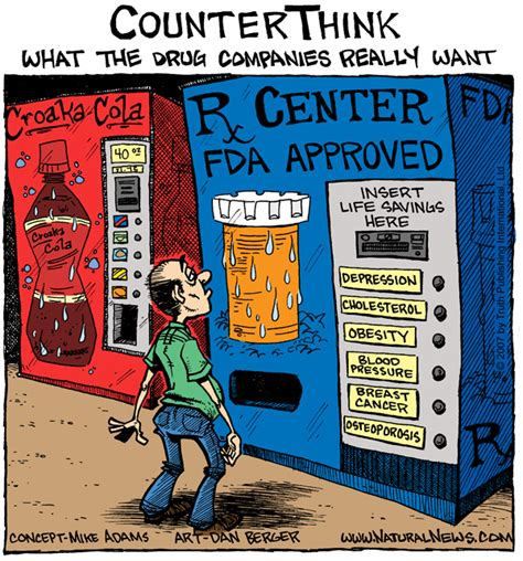 supplement vs medication what the companies really want comic