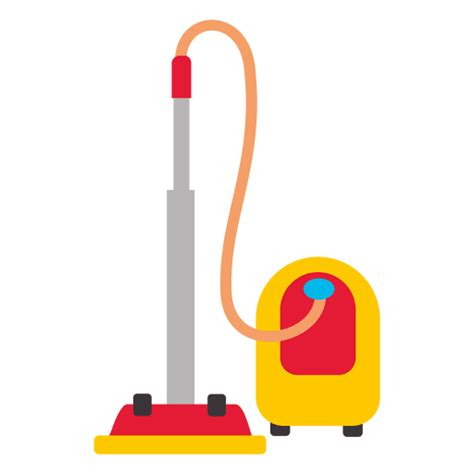 cleaning emoji flat vacuum cleaner transparent png svg vector