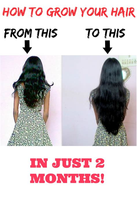 How Much Does Black Hair Grow In A Month | how to grow your hair faster