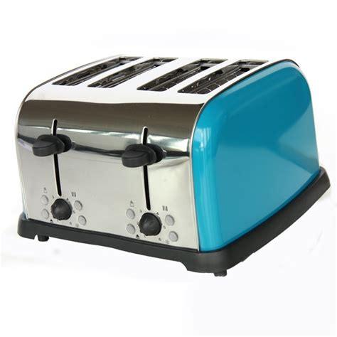 Teal Toaster Oven Teal Spectrum 4 Slice Toaster Kitchen Teal