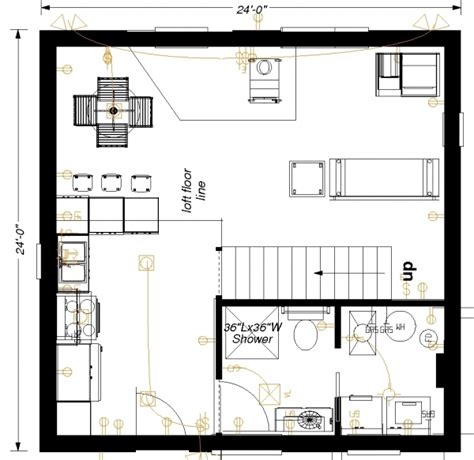 24x24 house plans homedesignpictures floorplan picture detail