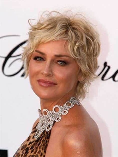 short curly hairstyles for older women leaftv 15 short layered haircuts for women short wavy