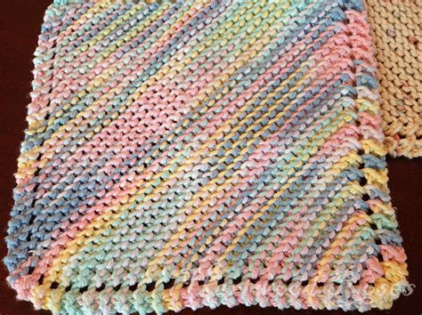 how to knit cotton dishcloths hartwood roses feeling crafty knitting dishcloths