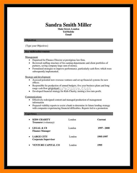 Achievement Resume Template by 6 Achievements In Resume Mla Cover Page