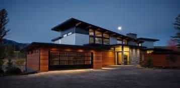 Lindal Homes Impressionnante Maison En Bois Et Pierres Au Pied De