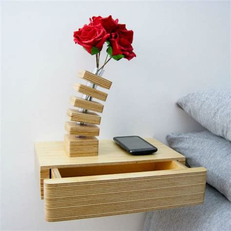 floating bedside table with drawer and shelf by urbansize 24 creative and eye catchy bedside table alternatives