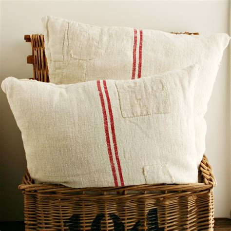 Grain Sack Pillows by J House Tawk Quot Grain Sack Quot Pillow