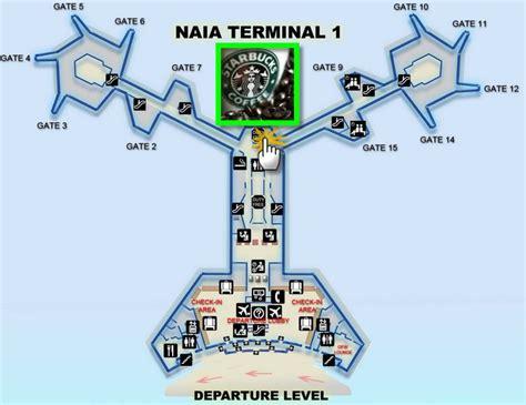 naia terminal 1 floor plan naia1 starbucks new waiting place bitz n pieces