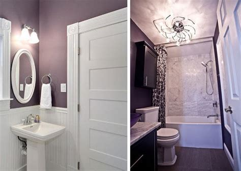 purple and white bathroom 20 color combination ideas for bathrooms bathroom
