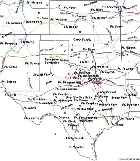 map of comanche texas fort tours comancheria