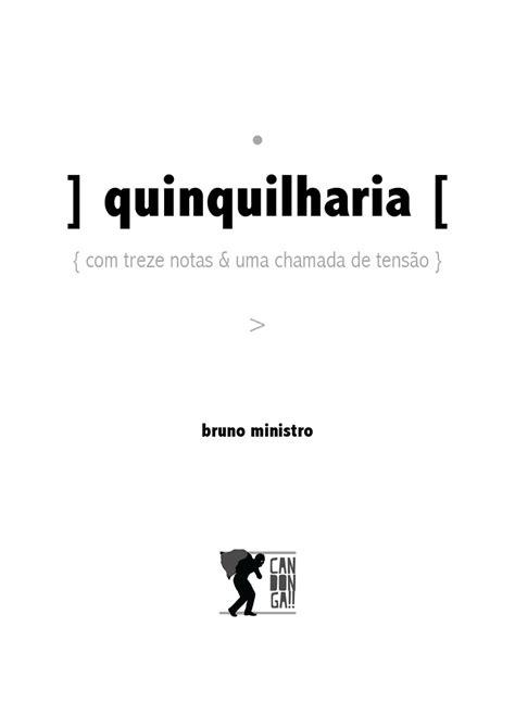 quinquilharia [ > – Arquivo Digital da PO.EX