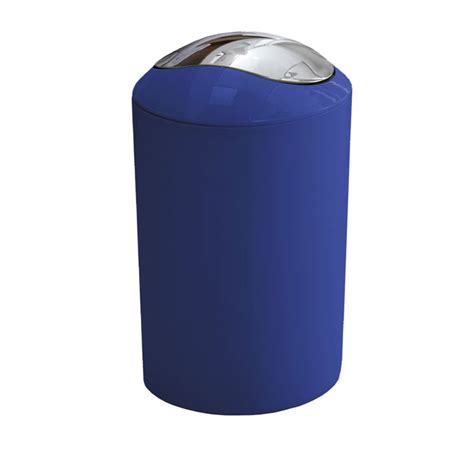 royal blue bathroom accessories kleine wolke glossy swing bin royal blue 5063 799