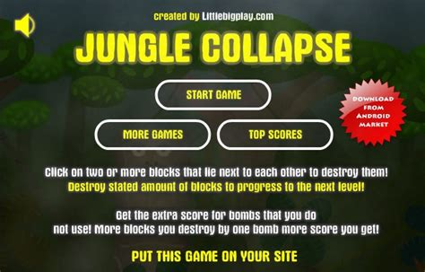 jungle collapse 2 get this fizzy game on your site jungle collapse hacked cheats hacked free games