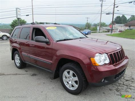 jeep laredo 2009 red rock crystal pearl 2009 jeep grand cherokee laredo 4x4