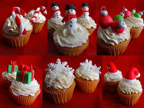 christmas cupcakes 12 7453 the wondrous pics