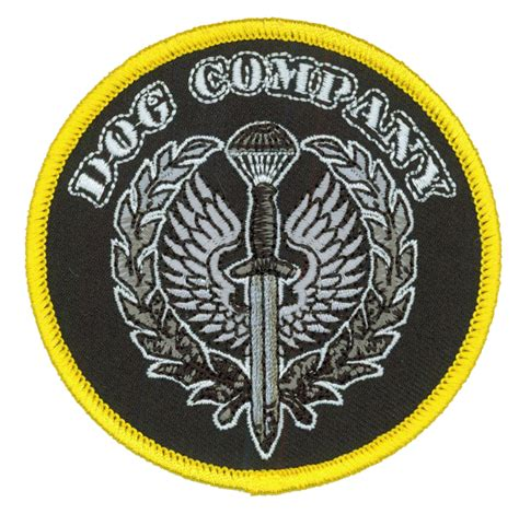 patch puppy rebel sound company embroidered patch
