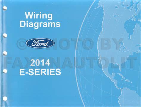 2014 ford econoline wiring diagram manual original